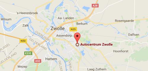 Auto Centrum Zwolle - Route